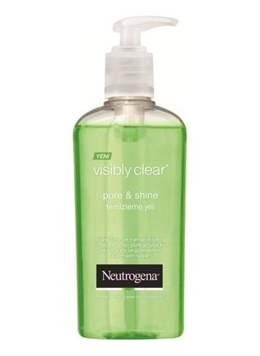 Neutrogena Visibly Clear Pore & Shine Misket Limon Ve Mandalina İçerikli Temizleme Jeli 200 ml Renksiz